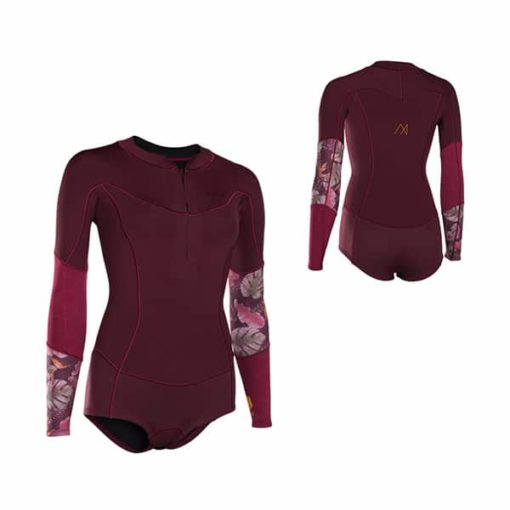 ION Muse Hot Shorty LS Frontzip Wetsuit 2018